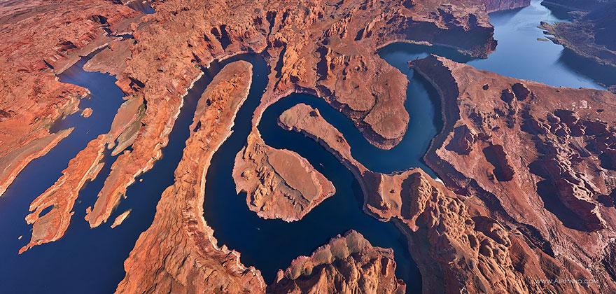 18. Озеро Пауэлл, Юта-Аризона, США