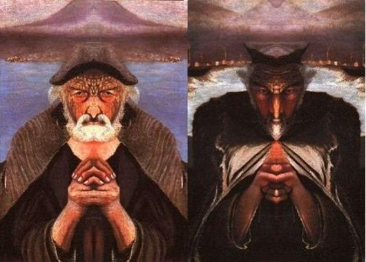5. Эта на первый взгляд ничем не примечательная картина написана венгерским художником Тивадаром Кос