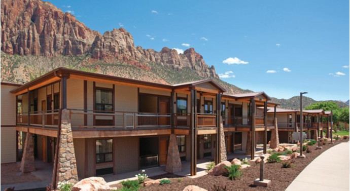 6. La Quinta Inn & Suites At Zion, Springdale, США Этот отель расположен рядом с национальным парком