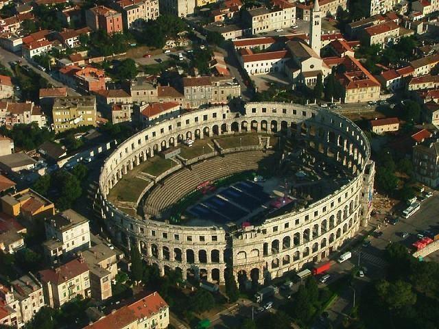 Знаменитые римские амфитеатры