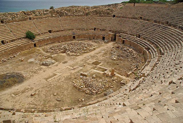 3. Арена Лептис-Магна Лептис-Магна располагается на территории современной Ливии, а был он построен