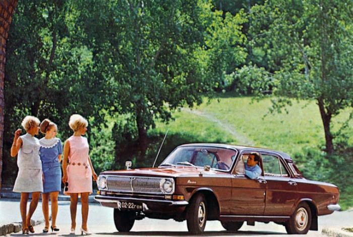 10. ГАЗ-24 «Волга» Советский седан среднего класса под названием — ГАЗ-24 «Волга», который изг