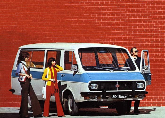 15. РАФ-2203 «Латвия» Микроавтобус, изготавливаемый Рижской автобусной фабрикой в период с 1976-го п