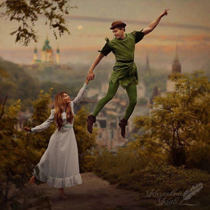 Сказки становятся явью: украинские знаменитости в фотопроекте «Сказочный Киев»