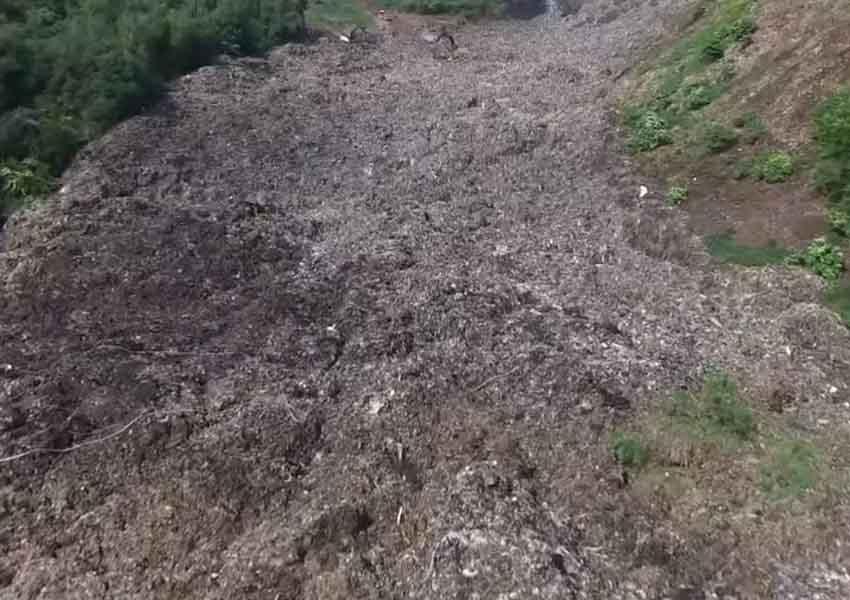 Министр экологии Семерак объявил, что свалка вГрибовичах снова загорелась