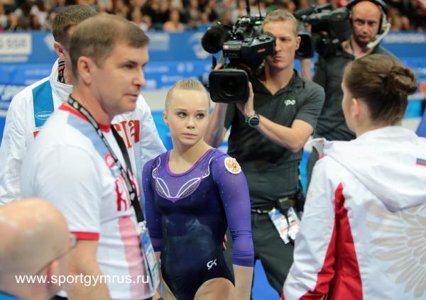 Воронежская гимнастка Ангелина Мельникова выступит только вкомандном финале Олимпиады