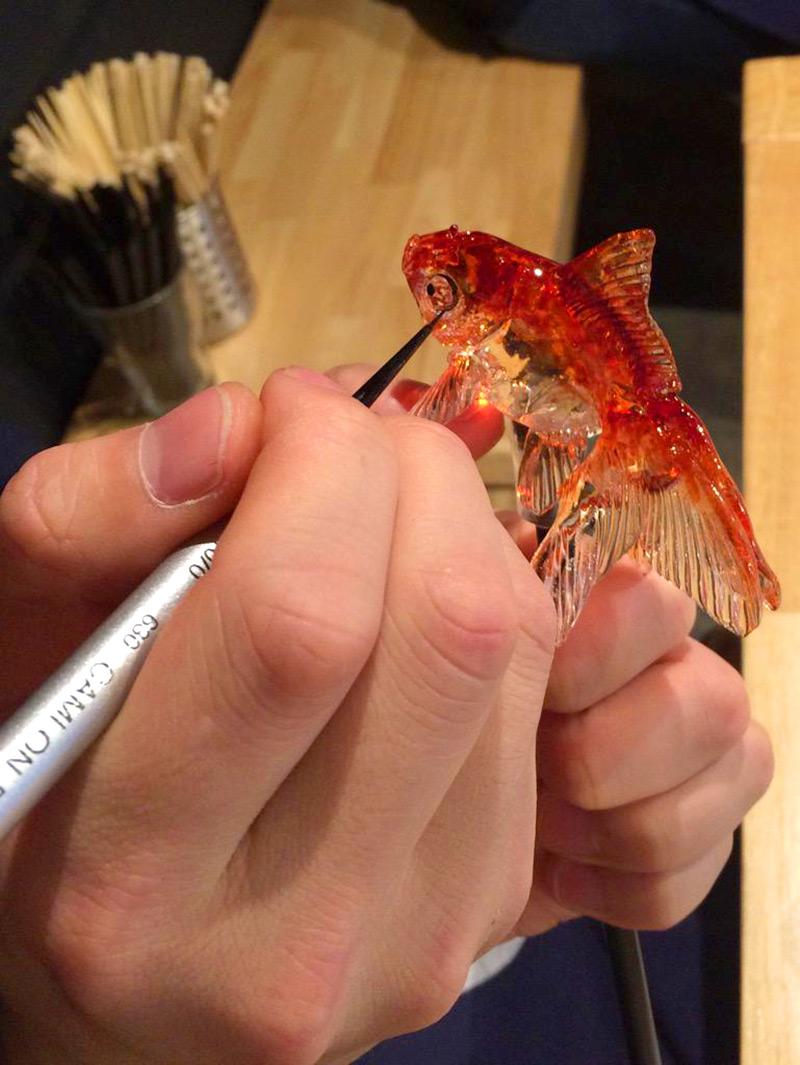 Realistic Animal Lollipops and Sugar Sculptures by 'Amezaiku' Artisan Shinri Tezuka