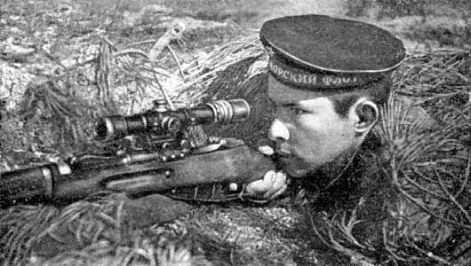 Рубахо Филипп Яковлевич, снайпер. Уничтожил 346 солдат и офицеров прот.jpg