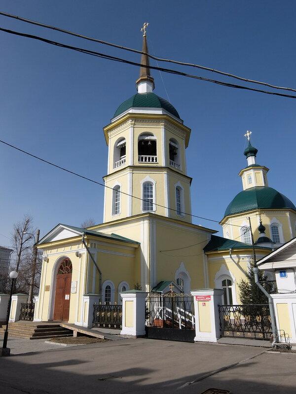 Иркутск - Преображенская церковь