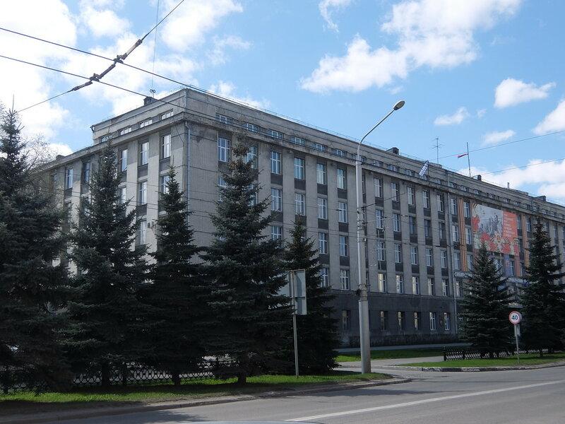 Новокузнецк - Здание СибГИУ