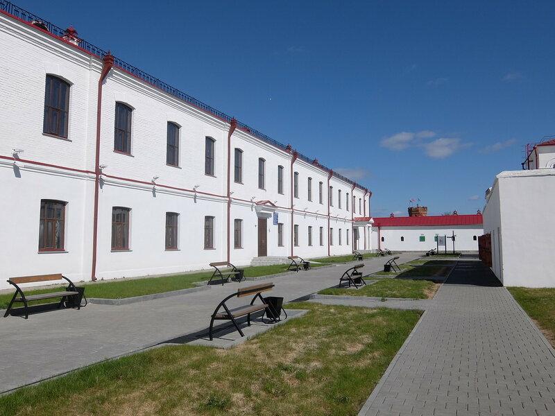 Тобольский Кремль - Тюремный замок - Внутренний двор