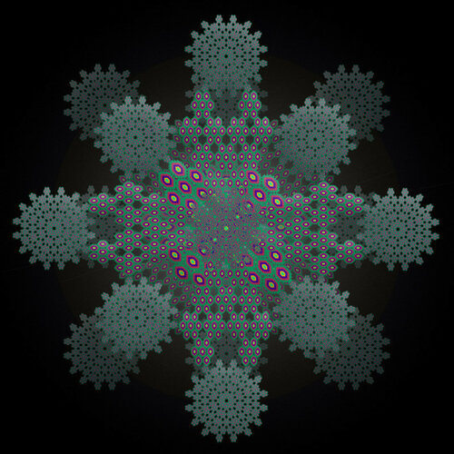 Фрактальная снежинка