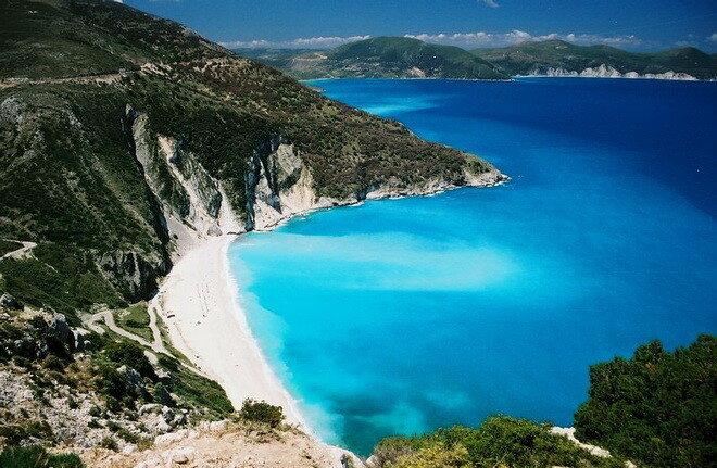 Пляж Миртос, о.Кефалония, Греция