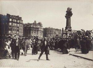 1914. Район Лионского вокзала