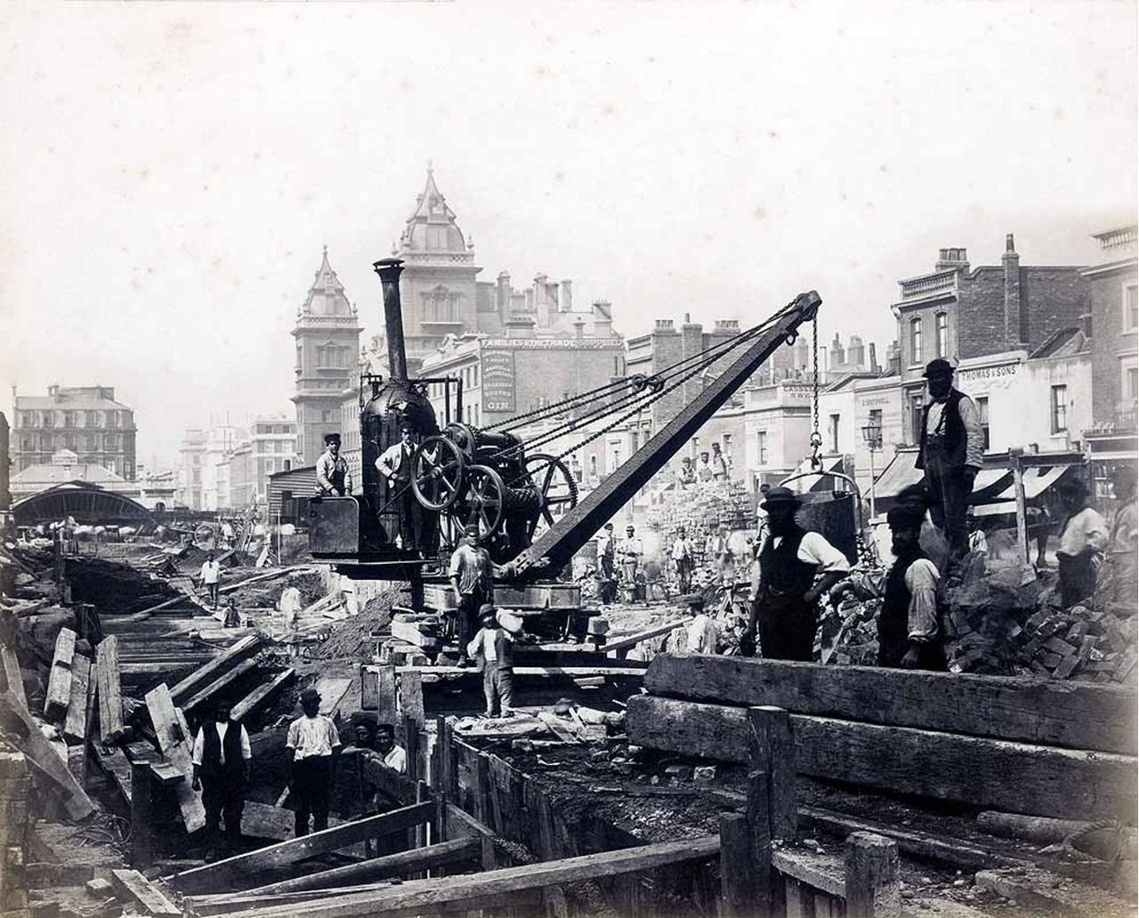 1867.  Строительство линии Дистрикт