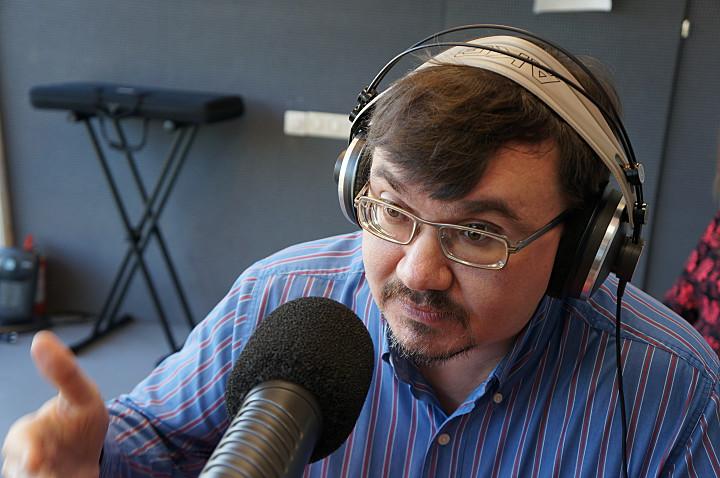 Александр Колотов в эфире радиостанции