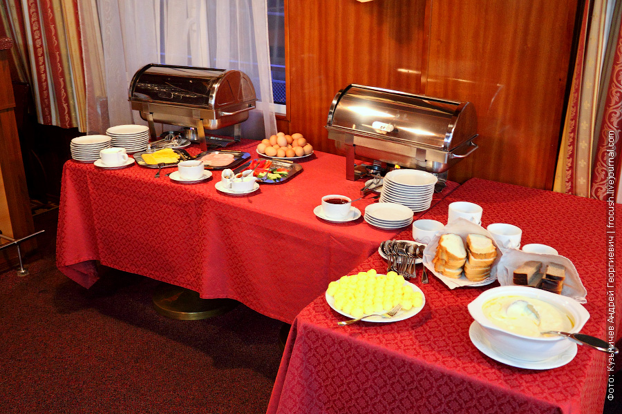 Завтрак — шведский стол