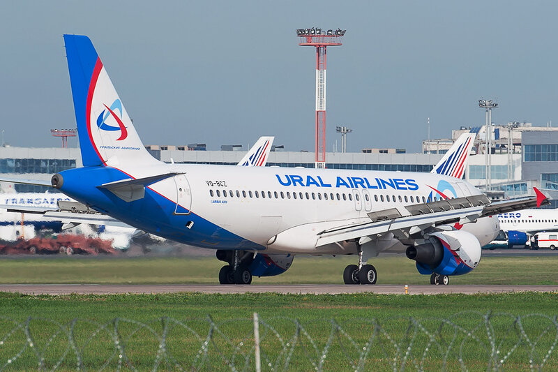 Airbus A320-214 (VQ-BCZ) Ural Airlines DSC2678