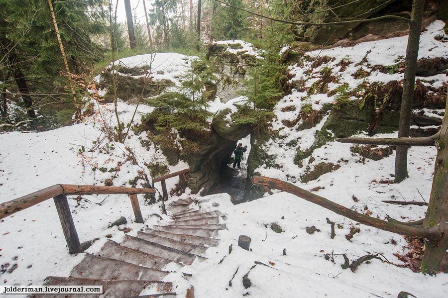 арка в горах