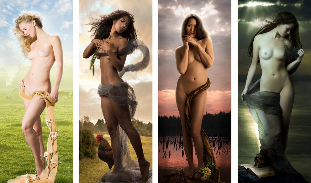 Художественная фотография обнажённых женщин 23 фотография