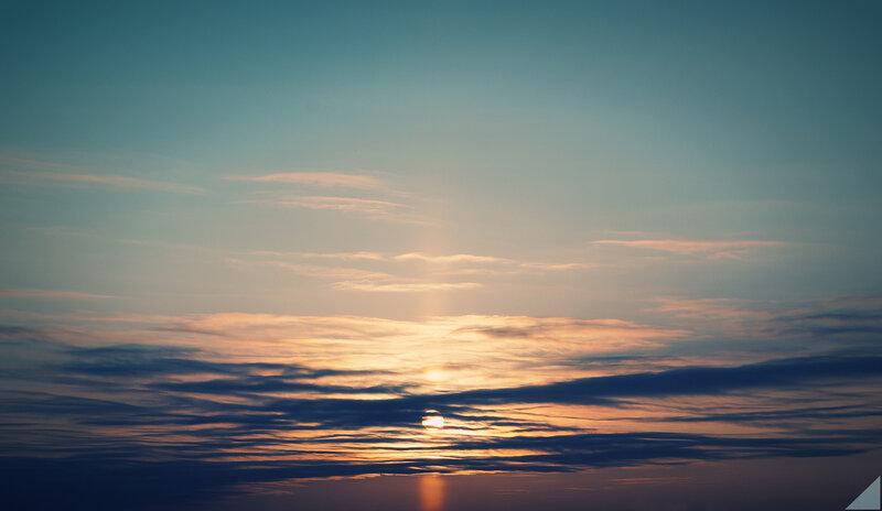 Банальный закат