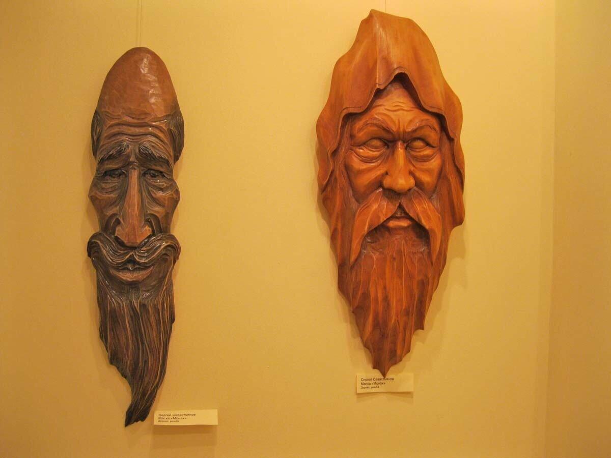 Деревянные маски фото