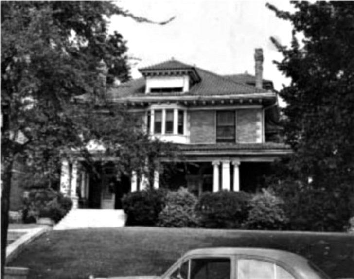 Детский дом в в Мемфисе. Позднее здание было снесено После того как Джорджия Танн начала работать в