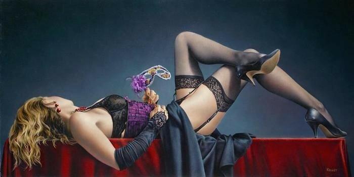 Как живые! Нежные и сексуальные женские портреты   канадец Пол Келли
