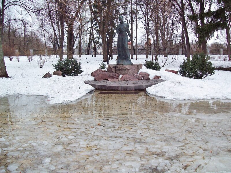 Оттепель в Мариинском парке