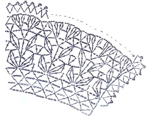 На схеме показаны 3,5 раппорта