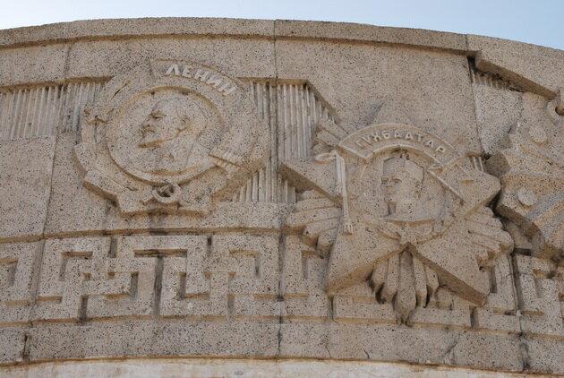 Мемориальный комплекс Зайсан. Монголия