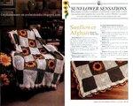 Большая коллекция подсолнухов крючком.  Цветок, связанный спицами. http...