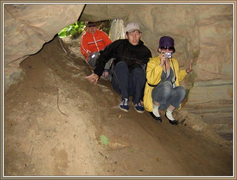 Вход в Танечкину пещеру