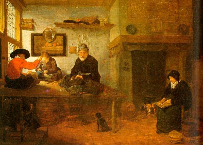 Brekelenkam, Quirijn van (Dutch, 1620-1668)brekelenkam2