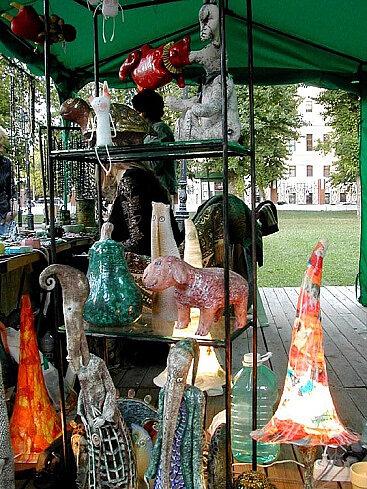 глинка арт. выставка в саду эрмитаж.