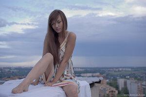 2669 девушка, Настя, город, портрет