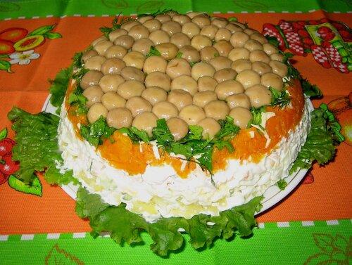 Лесная поляна рецепт с фото пошагово
