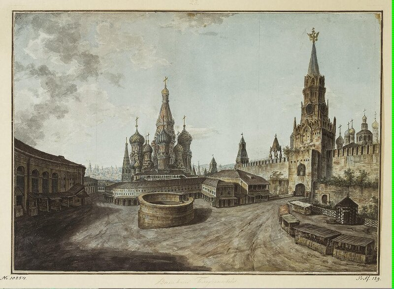 Alexeyev Fiodor - Cathedral of St Basil the Blessed and the Saviour Gate - JRR-6786