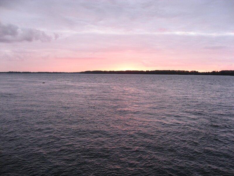 Закат над Волгой (Самара)