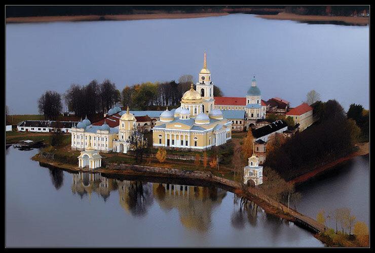 Россия с высоты птичьего полета