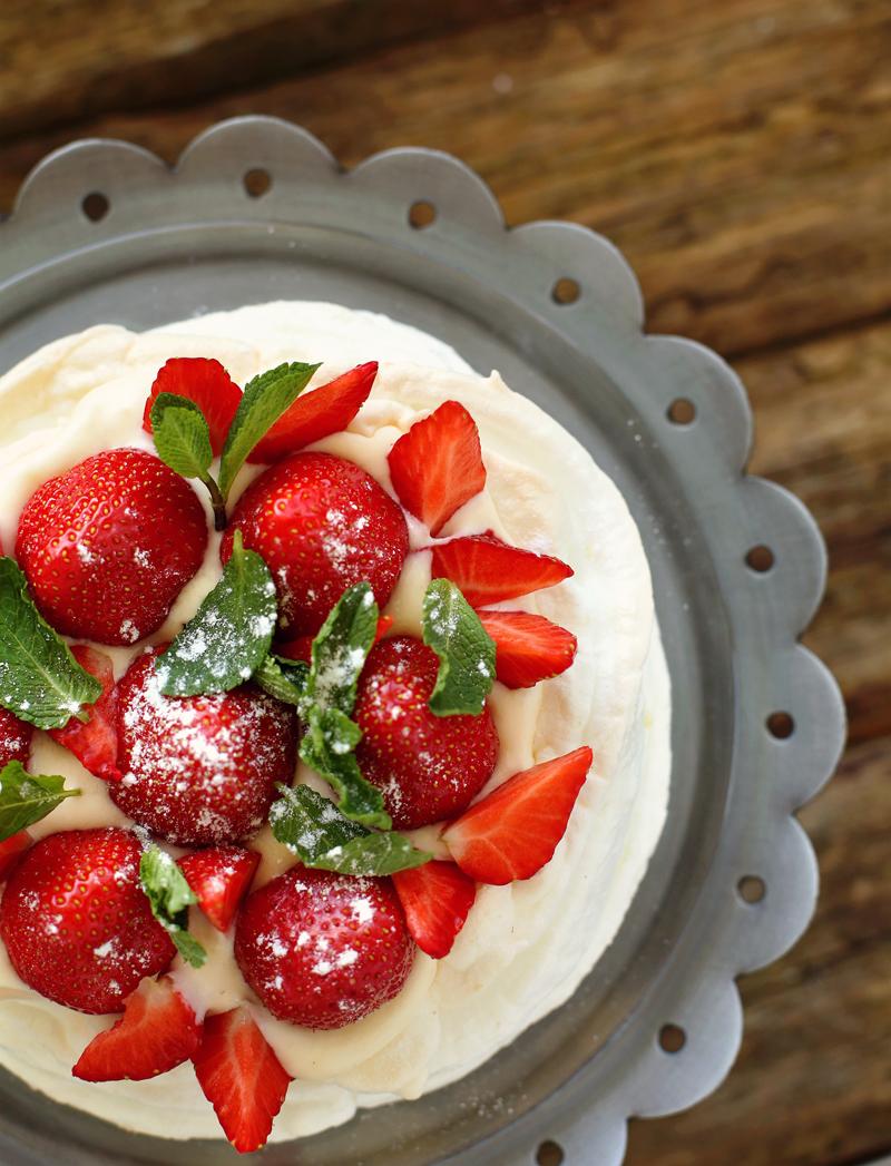 Торт Павлова - простой пошаговый рецепт с фото #16.