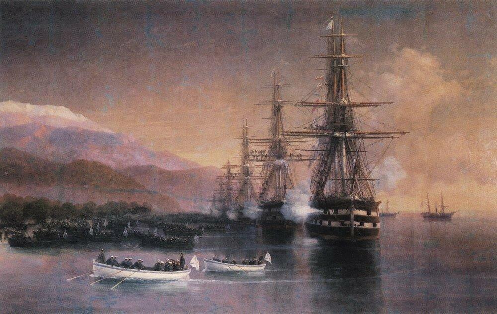 Десант в Субаши. 1880-е.jpg