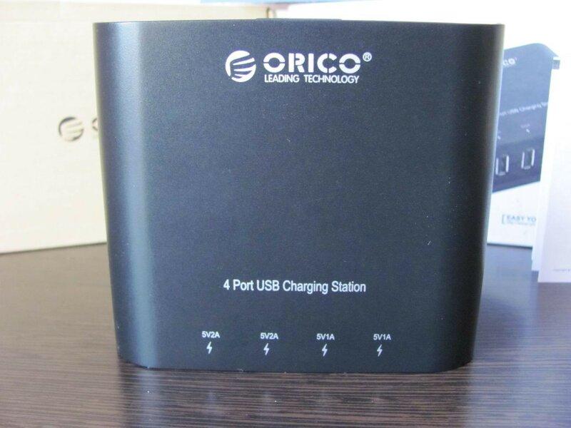 ChinaBuye: Зарядное устройство с 4 USB портами ORICO DCH-4U