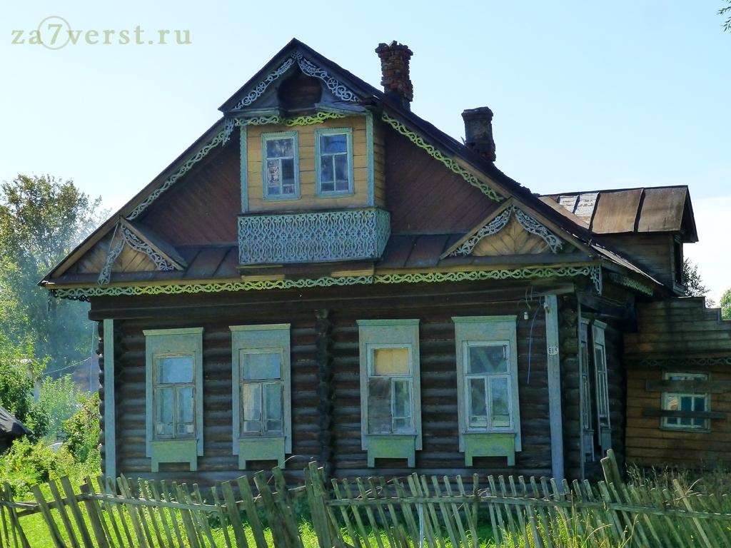 Тутаев Ярославской области, старый дом