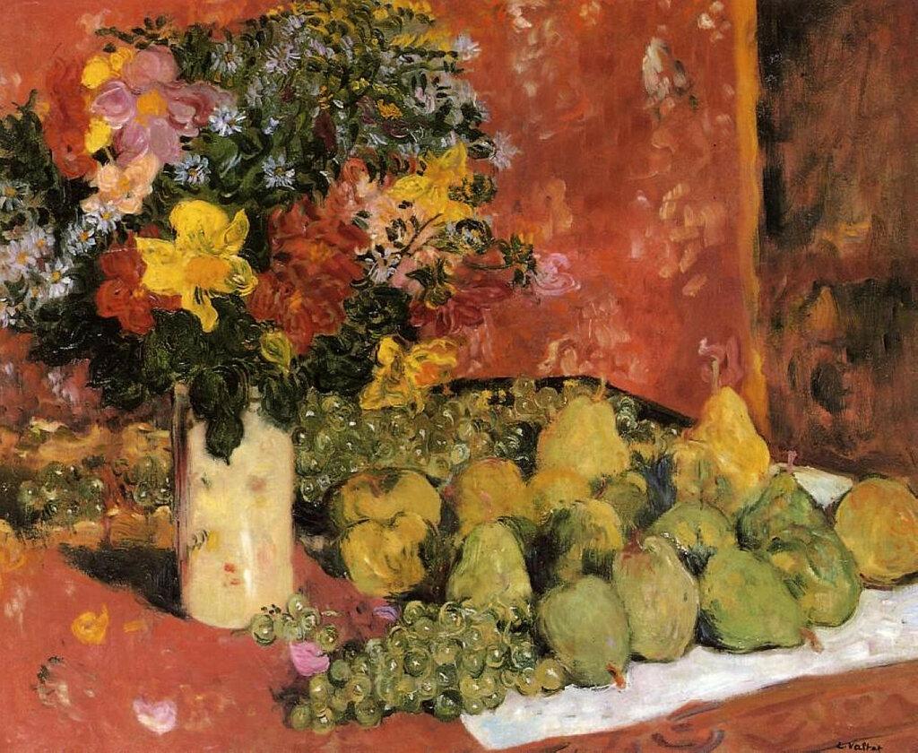 Louis Valtat - Flowers and Fruit, 1899.jpeg