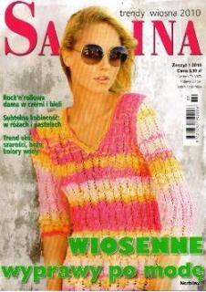 Журнал Sabrina Zeszyt №1 2010 Trendy Wiosna 2010