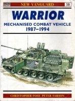 Книга Warrior Mechanised Combat Vehicle 1987-1994 (New Vanguard 10).