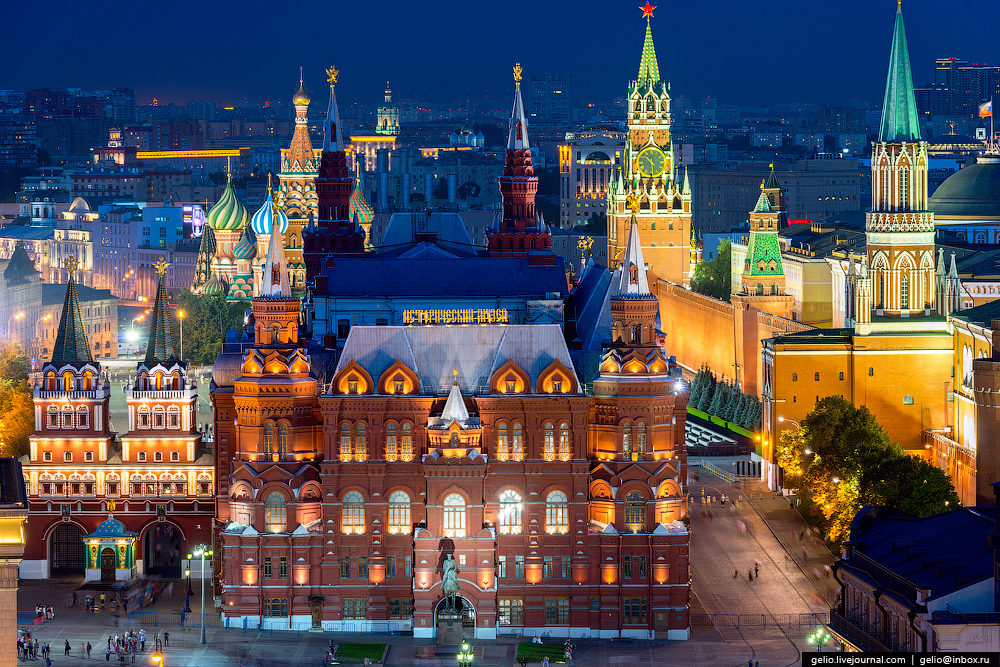 Moscow from above : gelio — LiveJournal