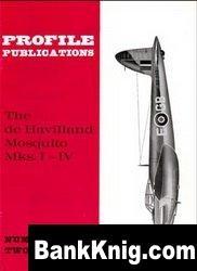 Книга De Havilland Mosquito Mks.I-IV  [Aircraft Profile 052]