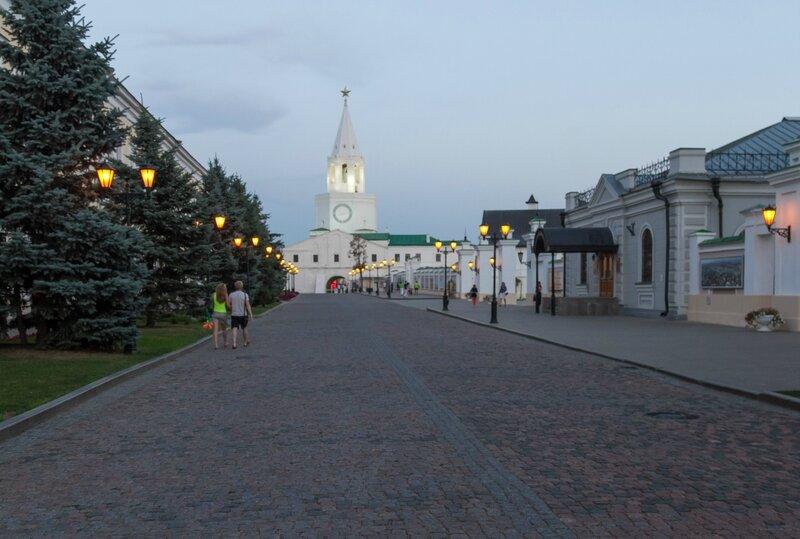 Казанский кремль, Спасская башня
